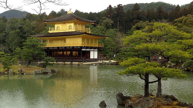 3 Hari Keliling Kyoto - Kinkakuji Temple 2