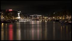 """Amsterdam """"Skinny bridge"""" Magere Brug"""