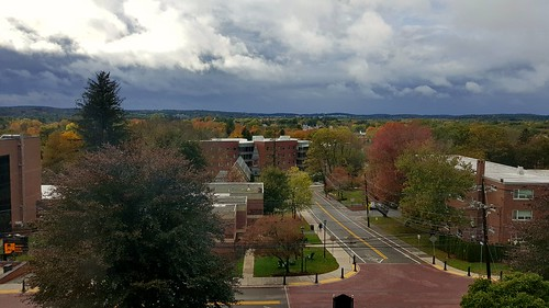 October skies / view from May Hall