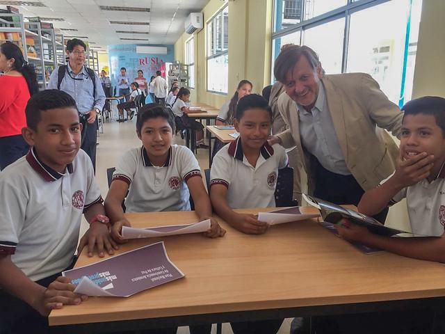 Inauguración Unidad Educativa Juan Emilio Murillo Landín