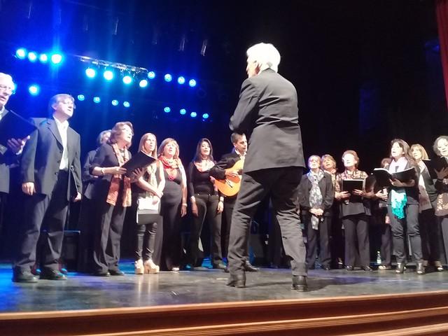 recital de Opus Cuatro y Coro Polifónico de Lobos