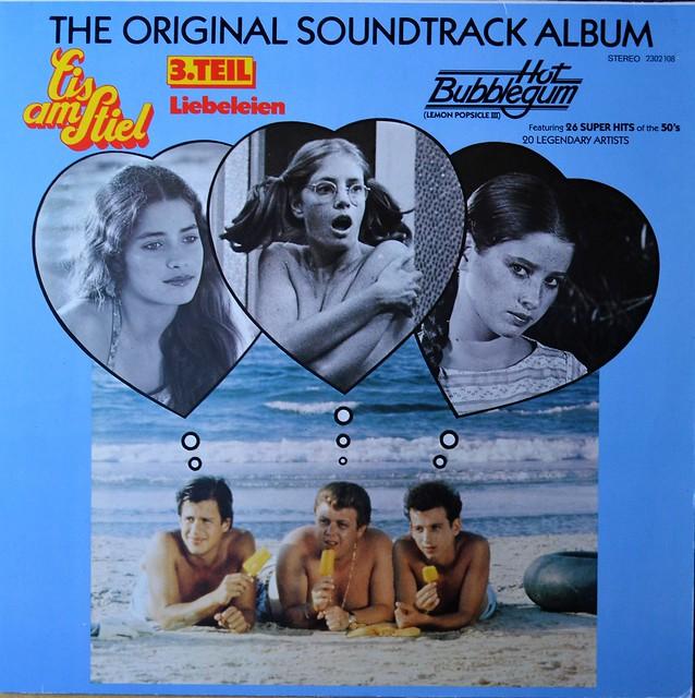 Various Artists - The Original Soundtrack Album Hot Bubblegum (Lemon Popsicle III)