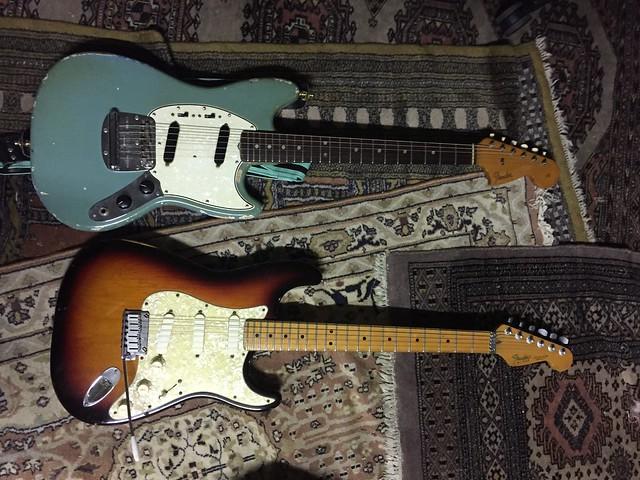 60s Fender Mustang & Fender Strat Plus