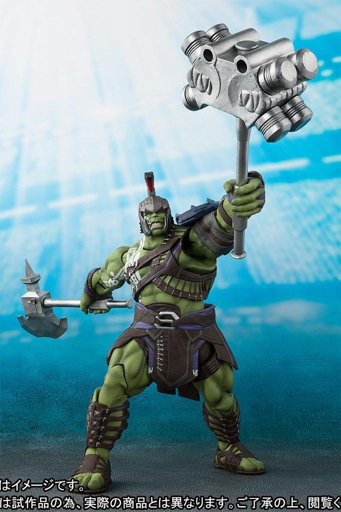 最強的復仇者、現任的競技場冠軍!! S.H.Figuarts《雷神索爾3:諸神黃昏》浩克 ハルク (Thor: Ragnarok)