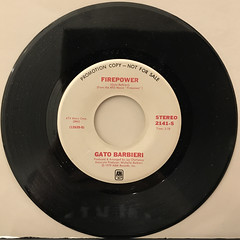 GATO BARBIERI:FIREPOWER(RECORD SIDE-A)