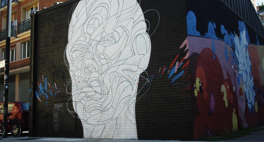 Bezienswaardigheden Bologna, street art in Bologna: Lokiss | Mooistestedentrips.nl