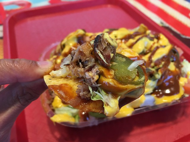 Fully-loaded nachos - Tops Bar-B-Q