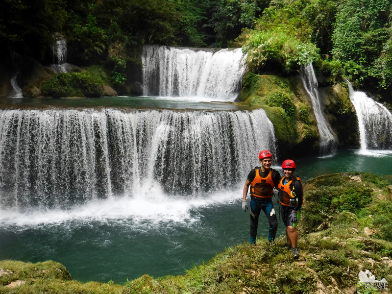 Sweethearts in Pinipisakan Falls