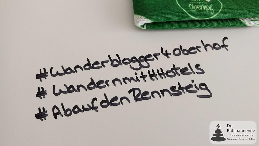 #Wanderblogger4Oberhof #WandernmitHHotels #AbaufdenRennsteig