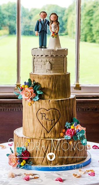 Cake by Sandra Monger Wedding & Celebration Cakes