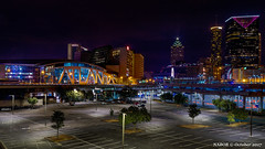 Atlanta, GA: Philips Arena and downtown partial skyline