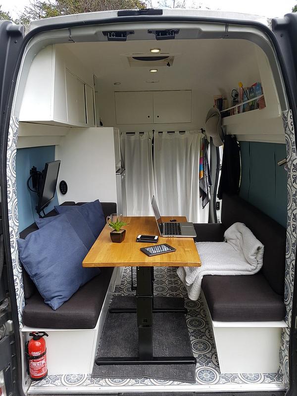 Werkplek inspiratie campervan (2)