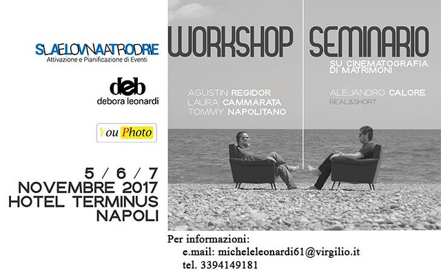 Seminario REAL&SHORT® 5/6 Novembre 2017, Napoli, Italia