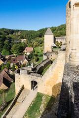 Dordogne Château de  Castelnaud XII° siècle 5 Octobre 2017