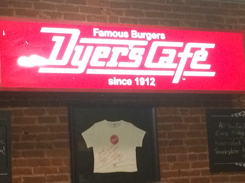 9/17 Hamburger Night at Dyer's