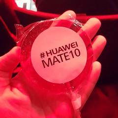 Yummy #HuaweiMate10 thanks @HuaweiMobileUK 😋 😋 😋
