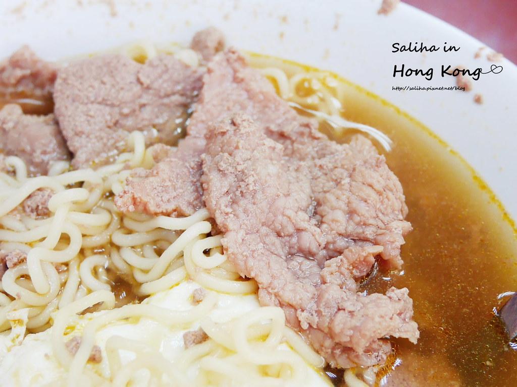 香港必吃深水埗維記咖啡粉麵豬潤公仔麵 (2)