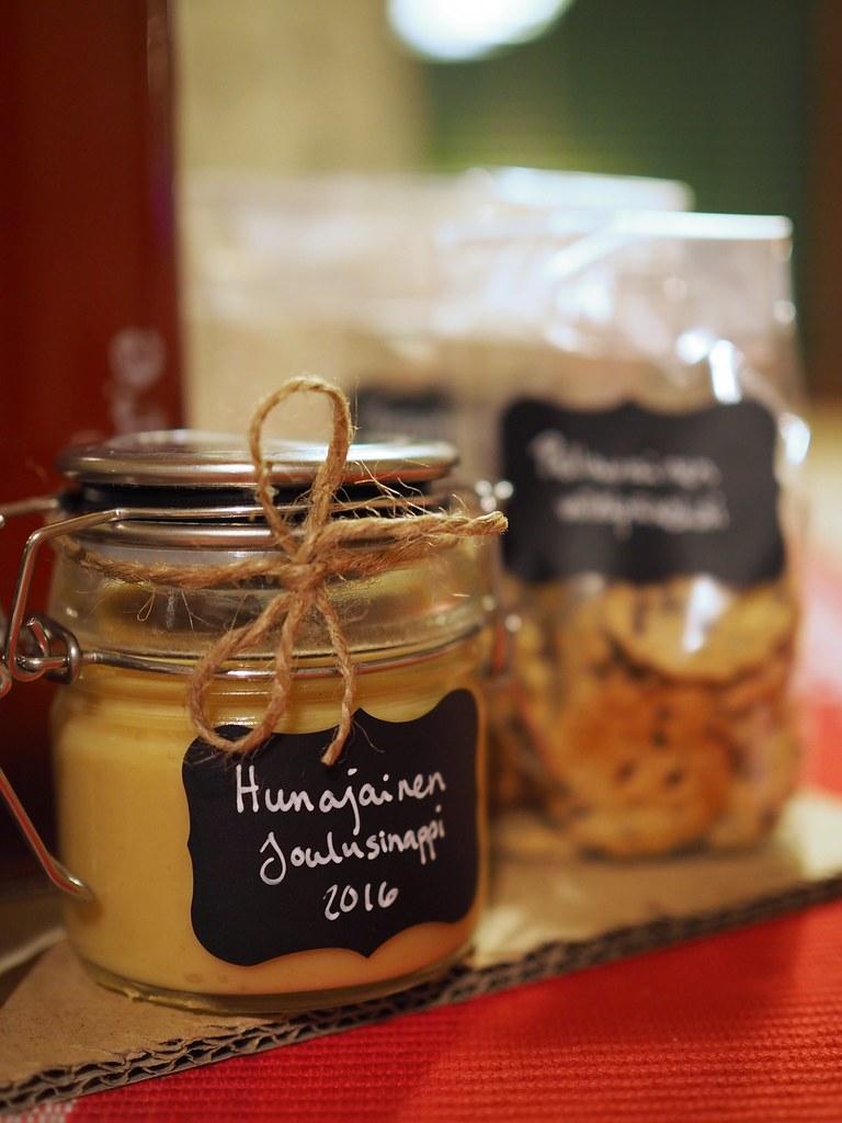 hunajasinappi resepti