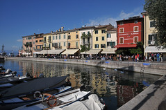 Lazise Marina and promenade