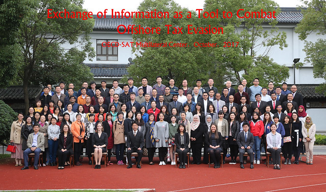 Seminar: Exchange of Information as a Tool to Combat Offshore Tax Evasion, 23-27 October 2017, China