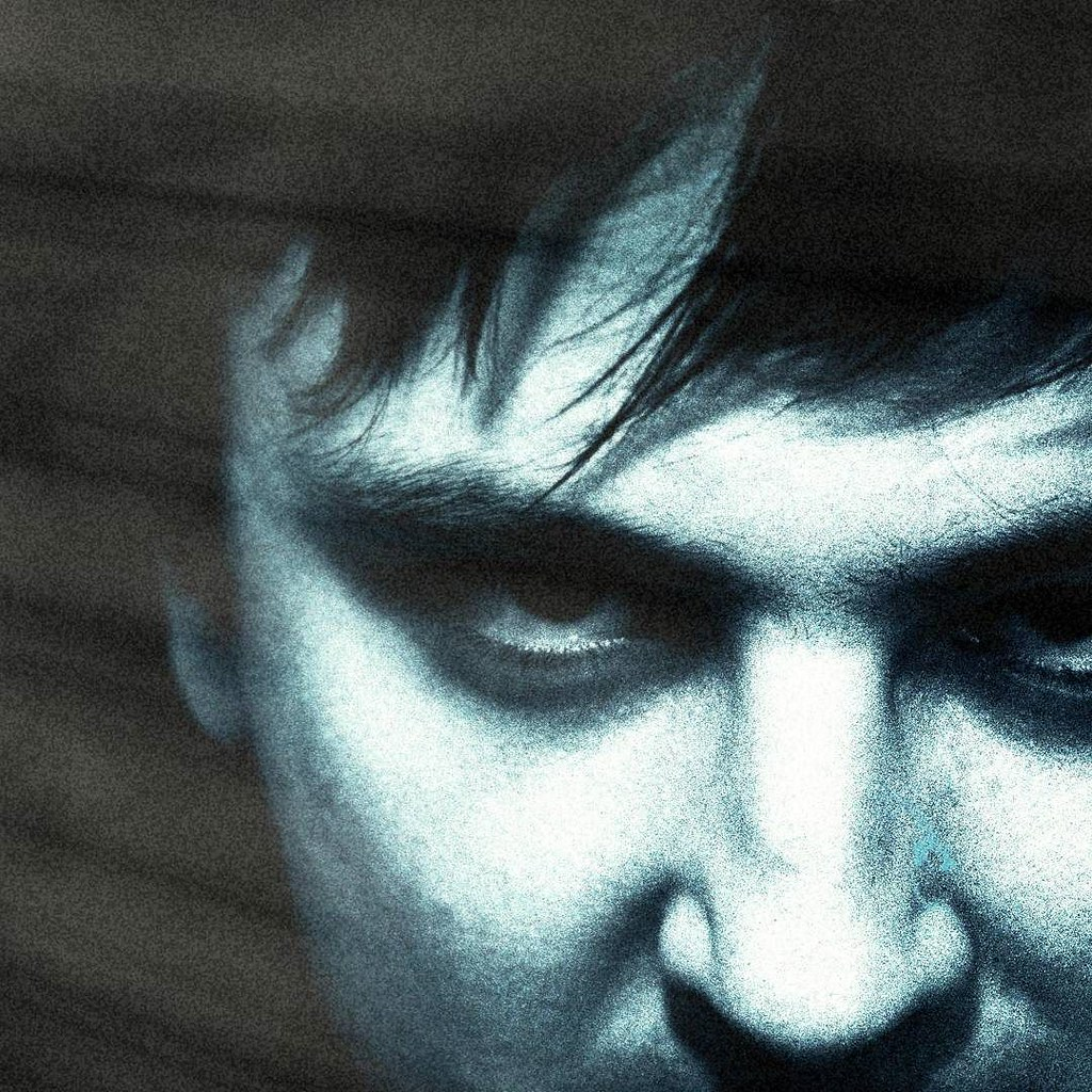 New from the past #mood #profile #me #myself #monochrome #bad #portrait #photo #photooftheday #picoftheday #igers #igersitalia #igersmilano #blackandwhite #face #photography #old #blue #hair #look #eyes #scary