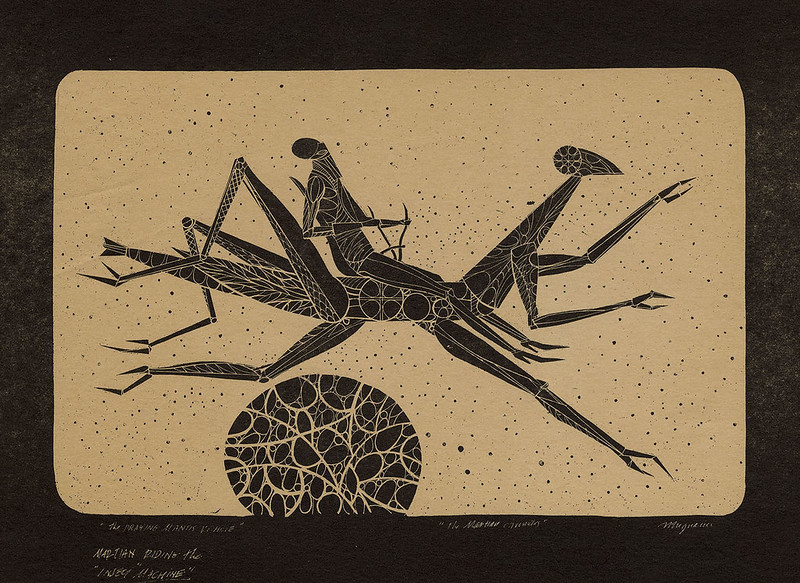 Joseph Mugnaini - The Praying Mantis  Vehicle. 1970