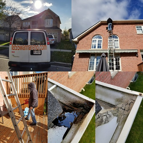 Eavestrough repair and cleaning in Whitby. #eavestroughcleaning #eavestrough #eavestroughrepairdurham #eavestroughwhitby #seamlesseavestroughdurham #cornerssealed #eavestroughajax #eavestroughpickering #eavestroughoshawa #geocelcaulking #1855wannareno ww