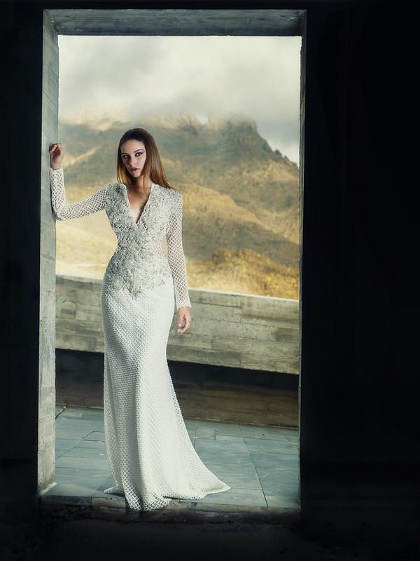 Modelo: Sara Cruz Diseñador: Damián Rodríguez