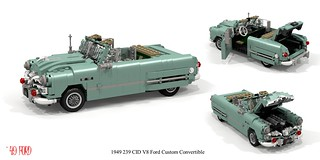 Ford 1949 Custom V8 Convertible