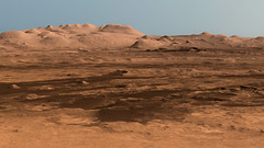 Latest View of Curiosity Rover in Gale Crater