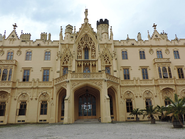 Lednice Castle, Moravia, Czech Republic