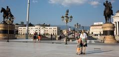 W centrum Skopje