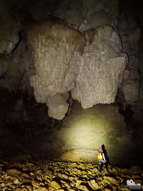 Giant stalactite