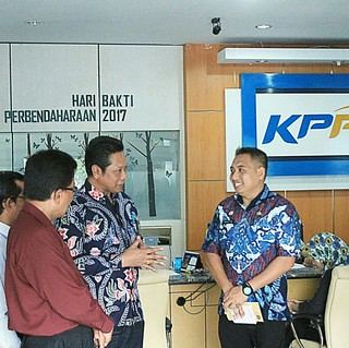 Sambutan kepala Kanwil DJPb Prov. Malut