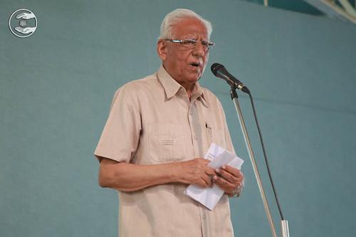 V.D. Nagpal, General Secretary, SNM