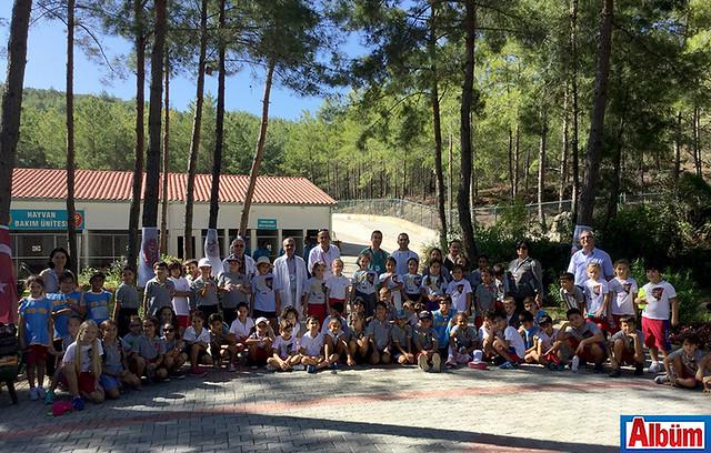Bahçeşehir Alanya Koleji Hayvan Barınağı ziyaret-5