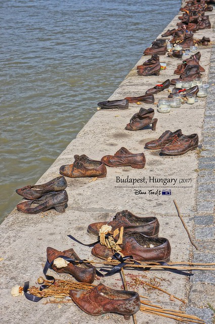 2017 Europe Budapest 08 Shoes on the Danube Bank