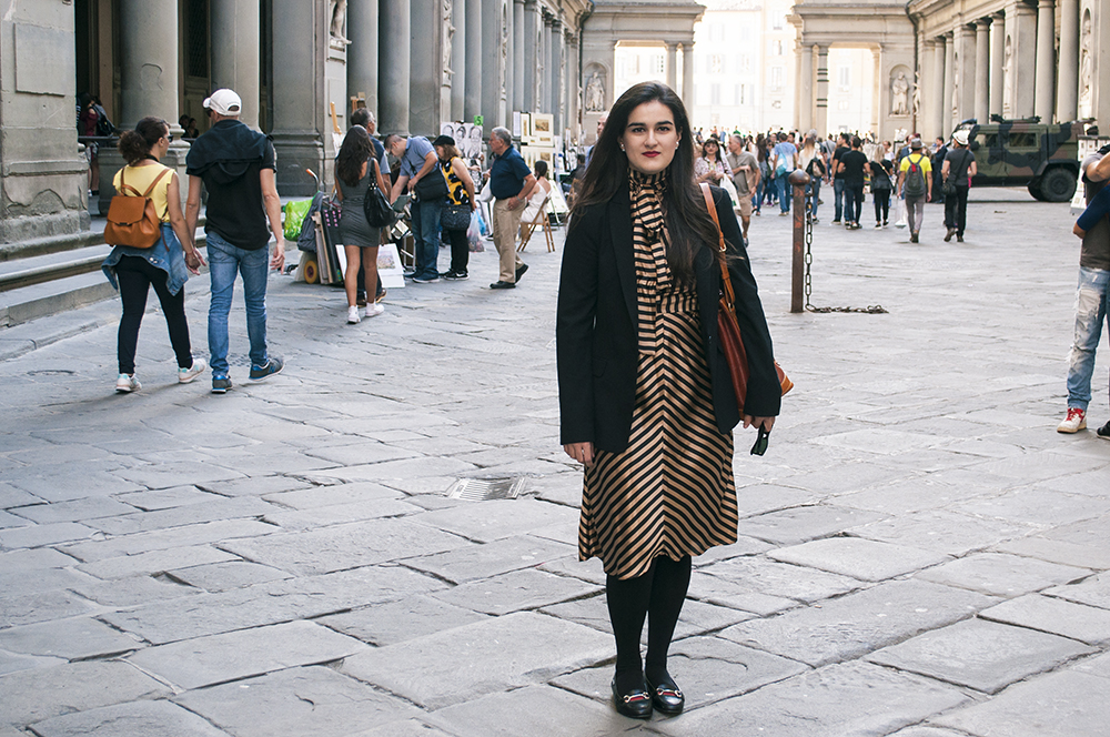 something fashion blogger influencer streetstyle galleria degli uffizi spain firenze italianbloggers what to wear_0256
