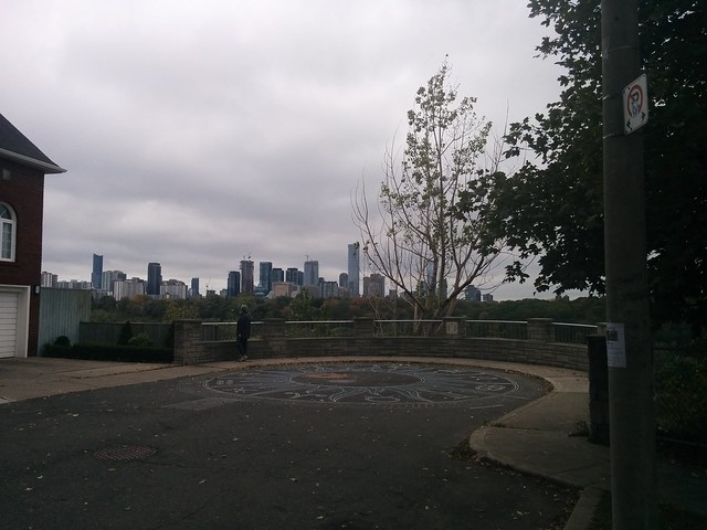 Skyline from Chester Hill (1) #toronto #skyline #playterestates #chesterhilllookout