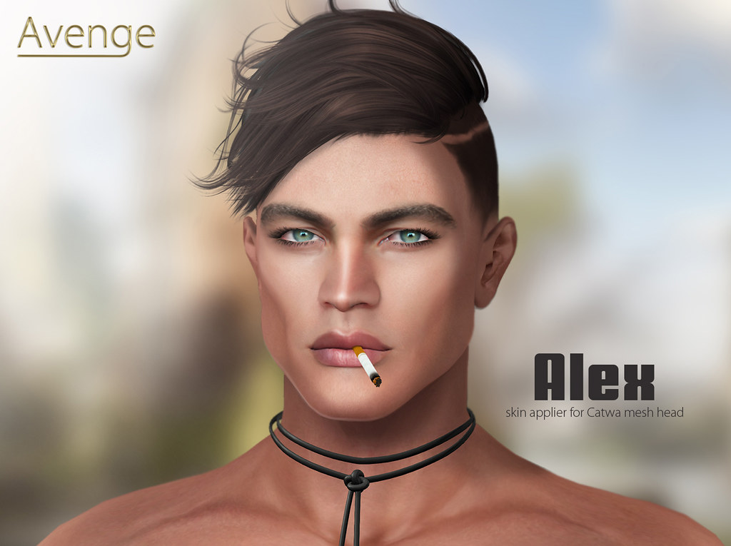 Alex skin ad with tag