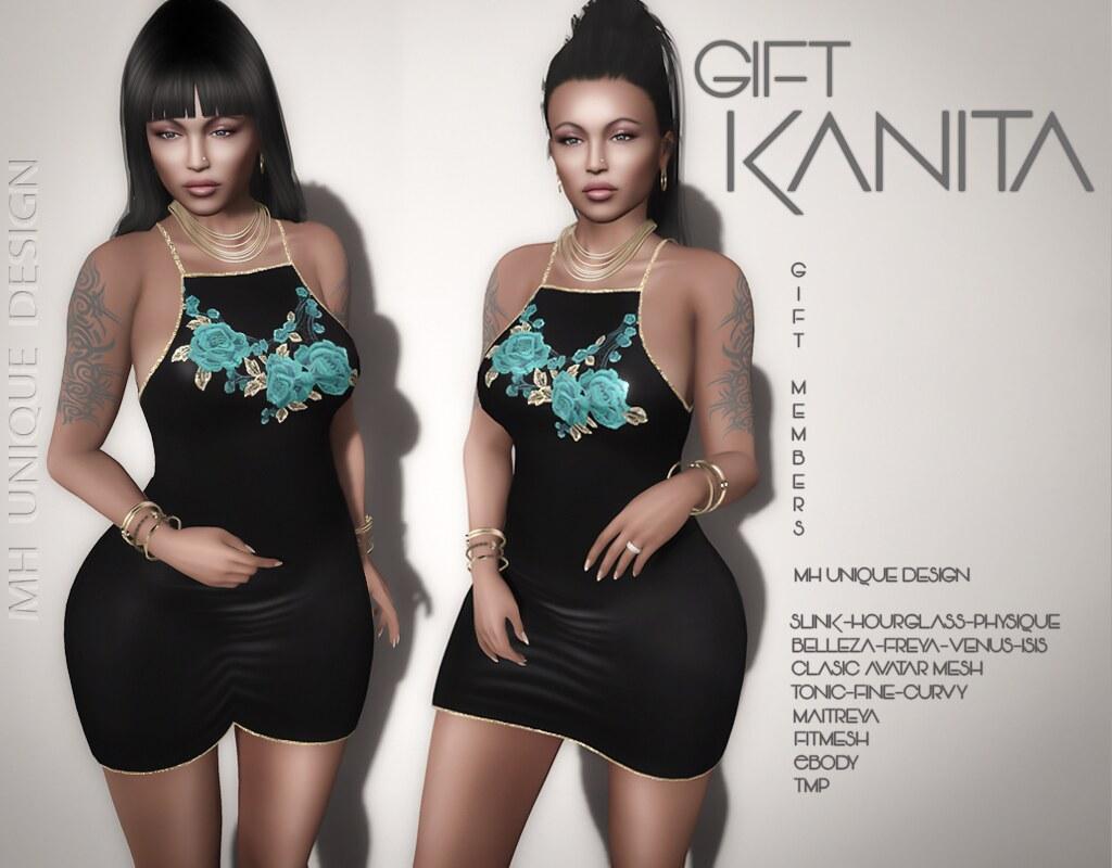 FREE GIFT, for members only, In World-MH-Gift Kanita Dress