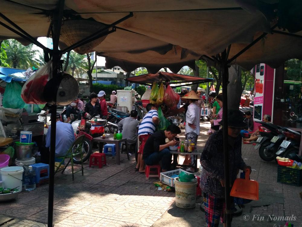 Vietnamese food stall