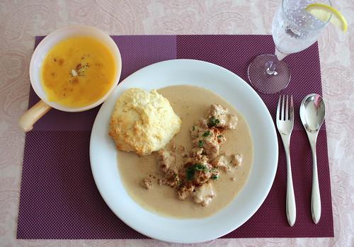アメリカ南部の料理レッスン ソーセージ・グレービー
