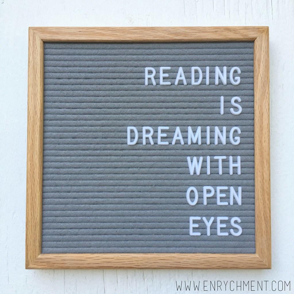 reading letterboard