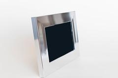 Silver empty frame