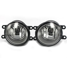 Chrome RIM Halogen Original Fog Light for Toyota Corolla Altis 2008 2009 US Type (990391) #Banggood