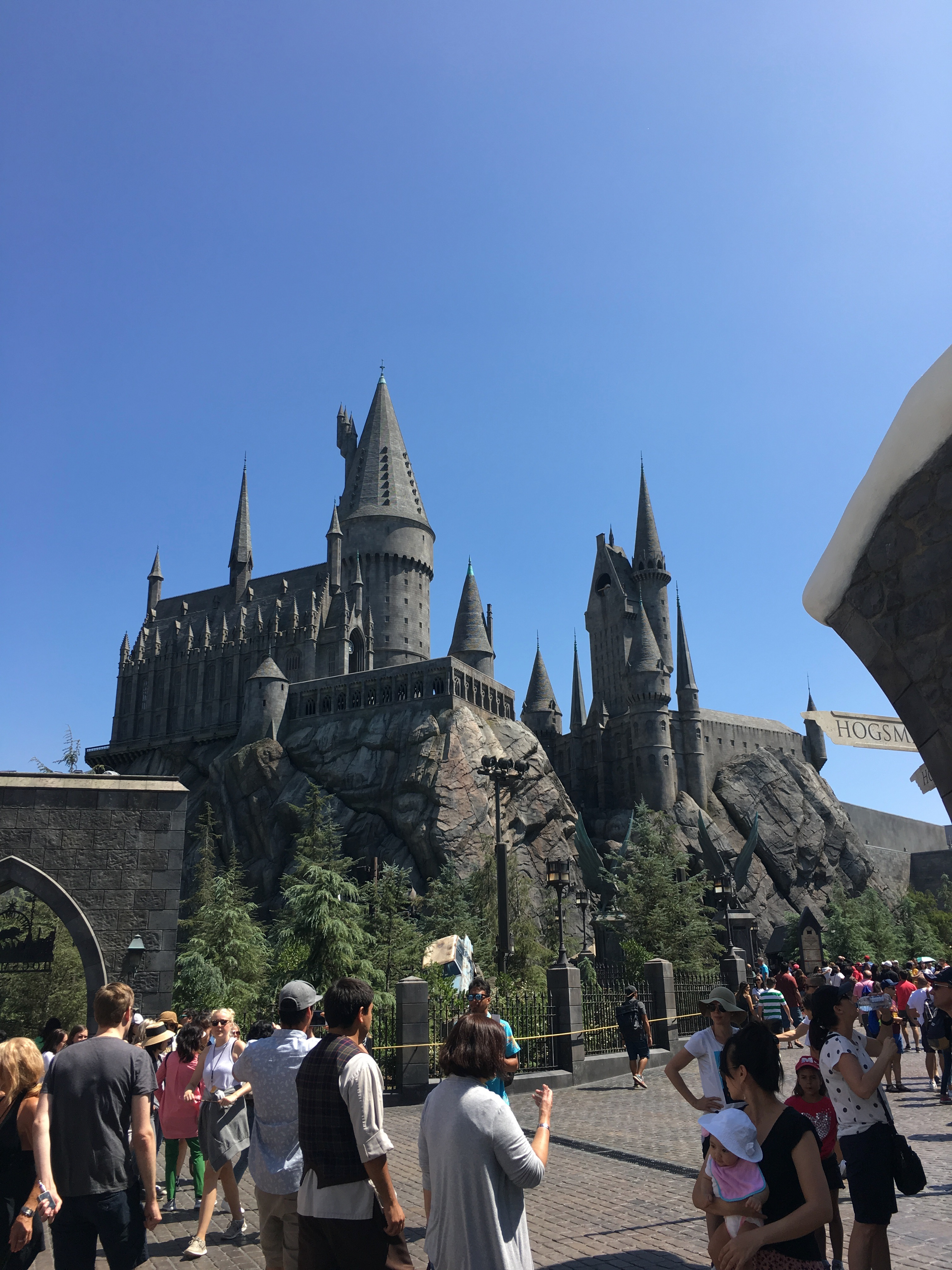 Universal Studios Hollywood - hogwarts