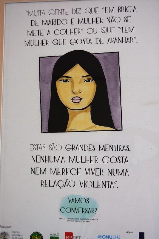 Aniversário NJM, Núcleo Judiciário contra a violência à Mulher - Seminário Prevenção e enfrentamento à violência contra mulher