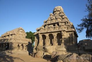 Mahabalipuram - Pancha Rathas