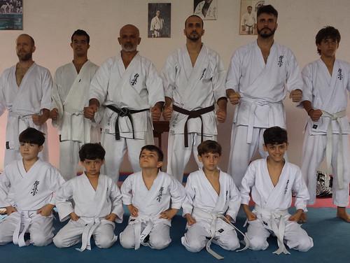 6º Exame de Faixa Branca - Turma KIDS Praia da Costa